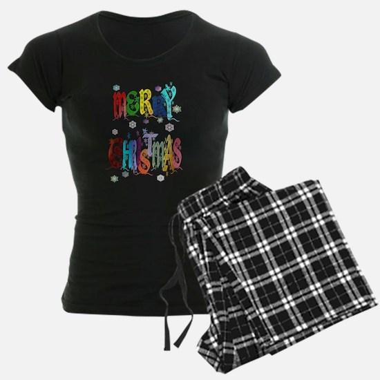 Colorful Merry Christmas Pajamas