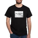 Paul's Family Diner Dark T-Shirt