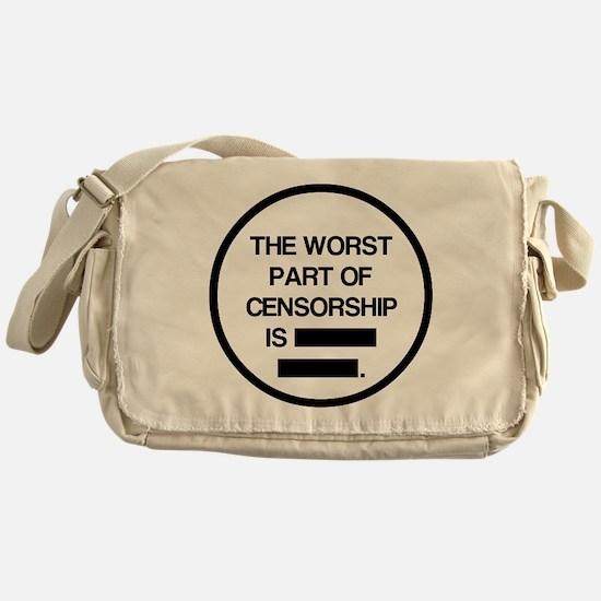 Unique Lesbian humor Messenger Bag