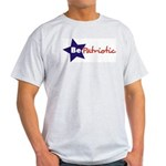 Be Patriotic | Ash Grey T-Shirt