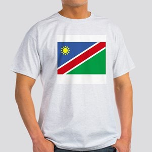 NAMIBIA - The Flag of Namibia Ash Grey T-Shirt
