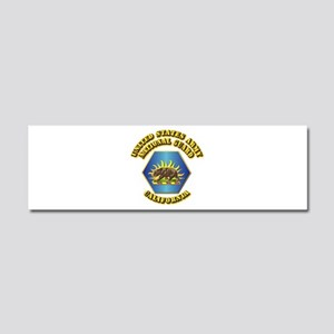 Army National Guard - California Car Magnet 10 x 3