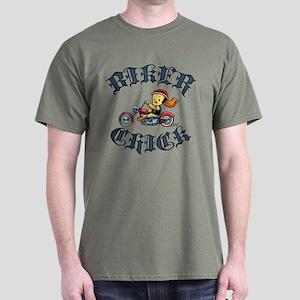 Biker Chick II Dark T-Shirt