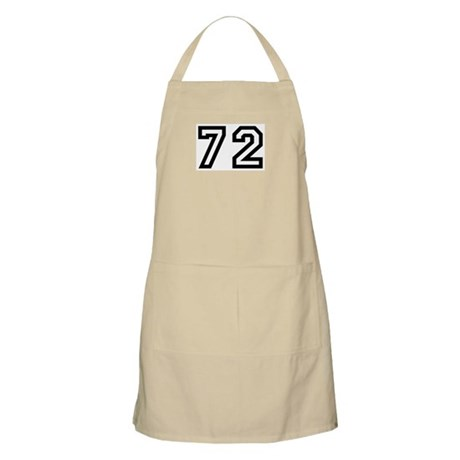 Number 72 BBQ Apron