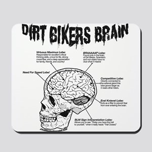 Dirt Bikers Brain Mousepad