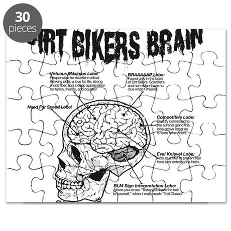Dirt Bikers Brain Puzzle By Cdiink