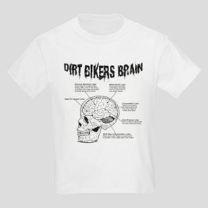 Dirt Bikers Brain Kids Light T-Shirt