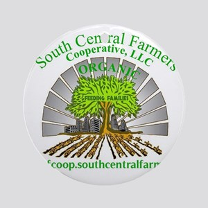 South Central Farmers Coopera Ornament (Round)