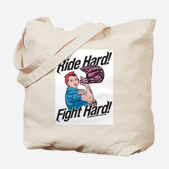 Rosie the Rider Tote Bag