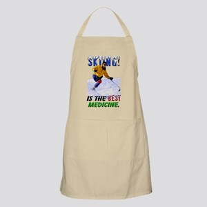 Skiing is the Best Medicine Apron