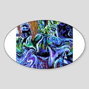 Mustdash Sticker (Oval)