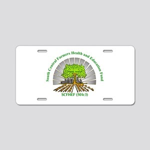 SCFHEF Aluminum License Plate