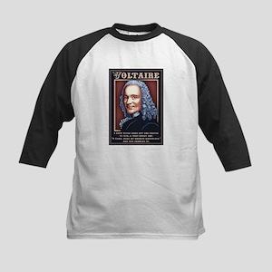 Voltaire - Prayer Kids Baseball Jersey