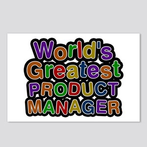 World's Greatest PRODUCT MANAGER Postcards 8 Pack