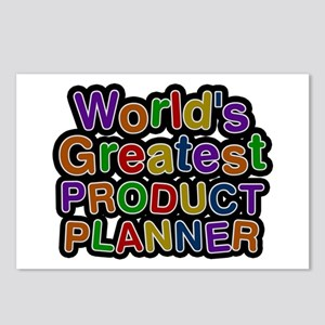 World's Greatest PRODUCT PLANNER Postcards 8 Pack