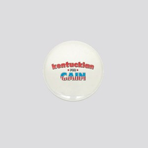 Kentuckian for Cain Mini Button