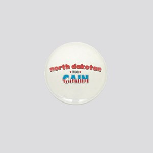 North Dakotan for Cain Mini Button