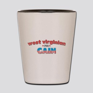 West Virginian for Cain Shot Glass