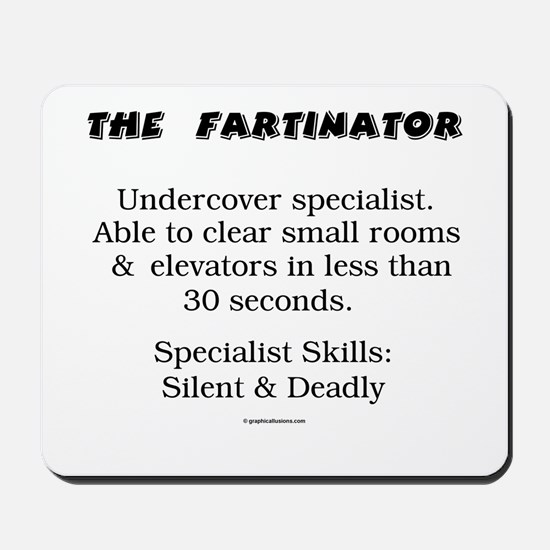 The Fartinator Mousepad