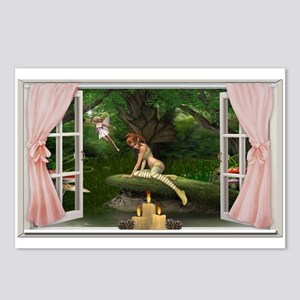 Fairy Wall Peels Postcards (Package of 8)