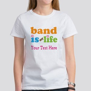 Band Is My Life Personalized Women's T-Shirt