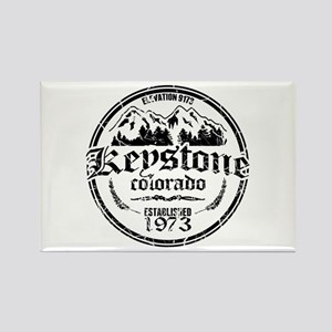 Keystone Old Circle Rectangle Magnet