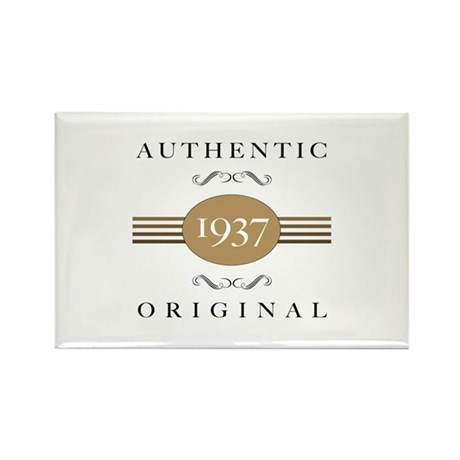 Authentic 1937 Rectangle Magnet (100 pack)