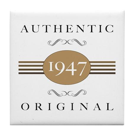 Authentic 1947 Tile Coaster
