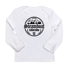 Steamboat Old Circle Long Sleeve Infant T-Shirt