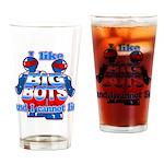 I Like Big Bots Drinking Glass