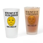 Nuclear Generation Drinking Glass
