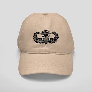 Parachutist -- B-W Cap