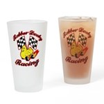 Rubber Ducky Racing Drinking Glass