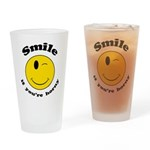 Smile If You're Horny Drinking Glass