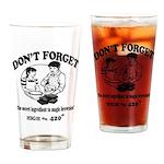 Secret Ingredient Drinking Glass