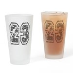 Number 23 Drinking Glass