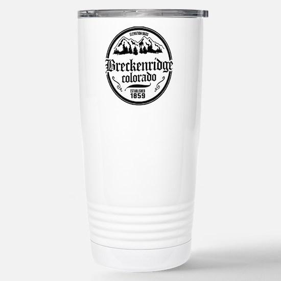 Breckenridge Old Circle Stainless Steel Travel Mug