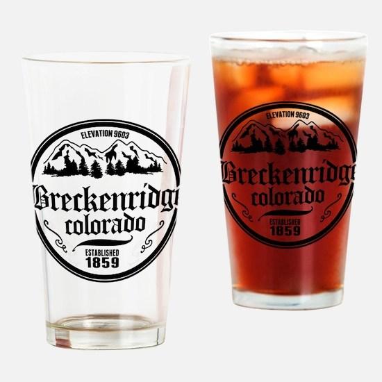 Breckenridge Old Circle Drinking Glass