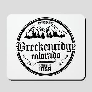Breckenridge Old Circle Mousepad