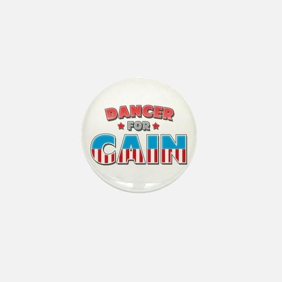 Dancer for Cain Mini Button