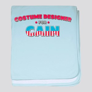 Costume Designer for Cain baby blanket