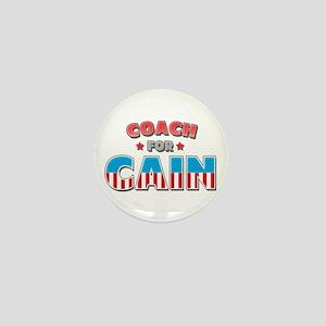 Coach for Cain Mini Button