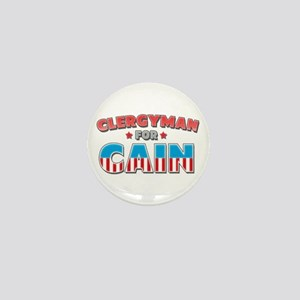 Clergyman for Cain Mini Button