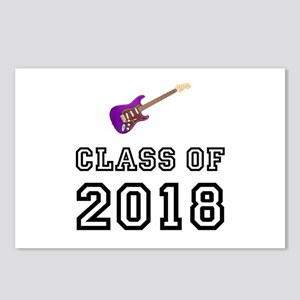 Class Of 2018 Guitar Postcards (Package of 8)