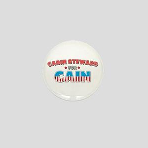 Cabin steward for Cain Mini Button
