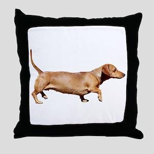 """""""Dachshund 1"""" Throw Pillow"""