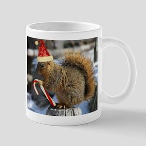 Christmas Squirrel Mug