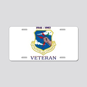 SAC Veteran! Aluminum License Plate