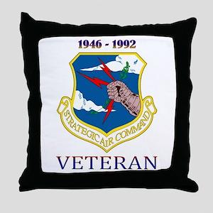 SAC Veteran! Throw Pillow