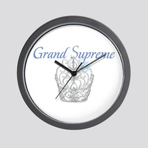 Grand Supreme Wall Clock